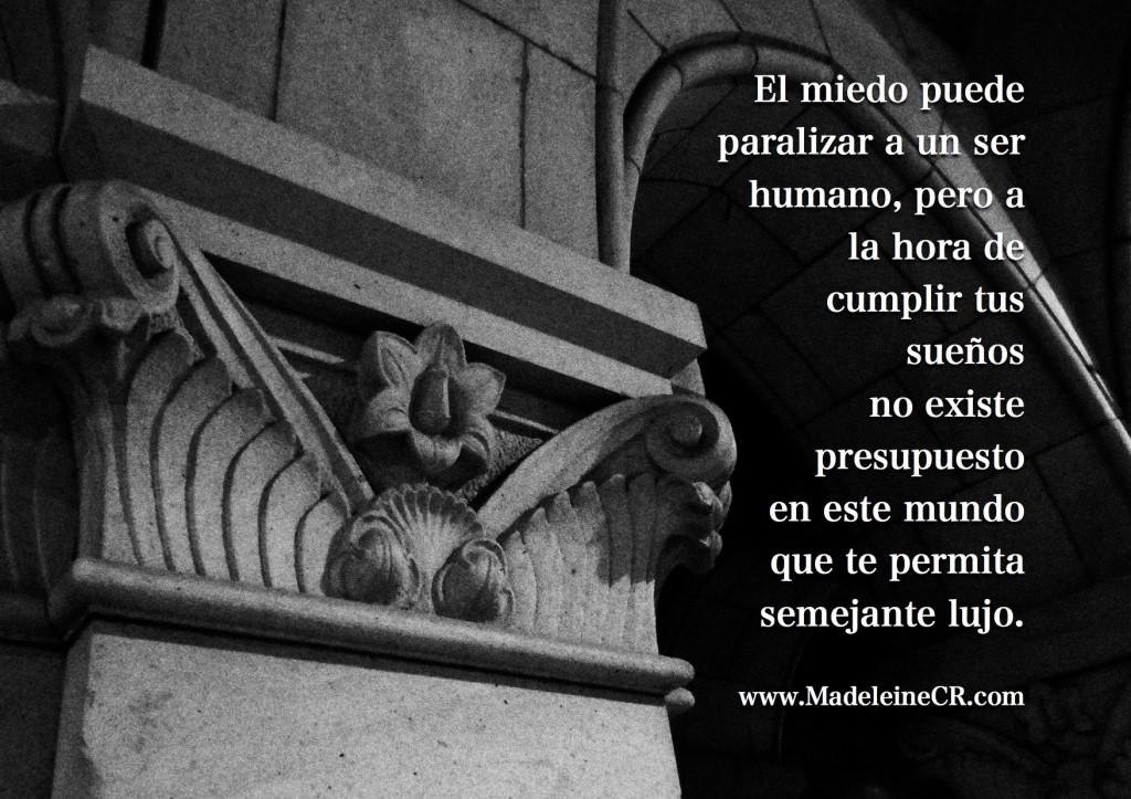 El miedo puede paralizar a un ser humano